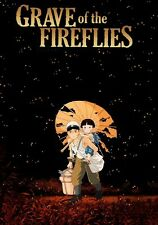 GRAVE OF THE FIREFLIES CARTOON ARABIC DVD FUS-HA WITH ENGLISH SUBTITLE
