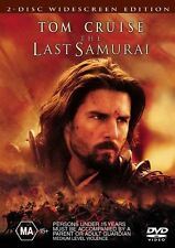 The Last Samurai (DVD, 2004, 2-Disc Set) Region 4