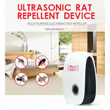 Ultrasonic Electronic Anti Mosquito Pest Bug Insect Cockroach Repeller Reject