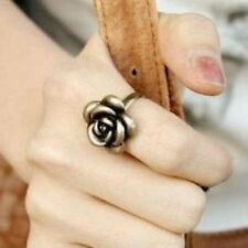 Iryaa Adjustable Vintage  Wild Rose Finger Ring - FREE SIZE