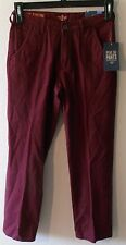 NWT Dockers Alpha Collection Big Boys Slim Tapered Pants 16 Red Dust MSRP$42