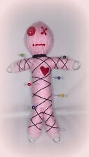 "Authentic Voodoo doll real 7 pins guide karma keepers Pink ""mascot"" new orleans"