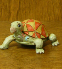 "Jim Shore Heartwood Creek #4021444  Mini TURTLE, NEW From Retail Store, 1.5""x3"""