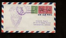 US FFC First Flight Cover 1928 CAM 30 Chicago - Atlanta Route with Atlanta canc