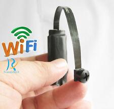 New wireless WiFi IP Spy Black Screw Lens Nanny Camera DIY Mini DVR Micro camera