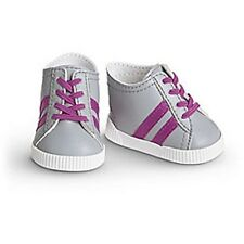 American Girl Doll STRIPED SNEAKERS SHOES My AG  NEW in Package