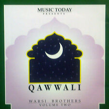 CD WARSI BROTHERS - qawwali, vol two, Sufi-Music