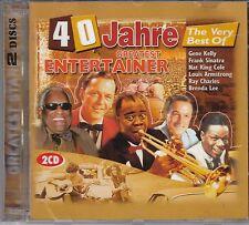 VA 40 Jahre Greatest Entertainer - Flower Power, 2CD