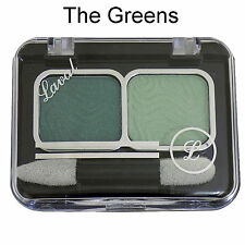 Laval Mixed Doubles Duo Eyeshadow Eye Shadow Palette ~ The Greens