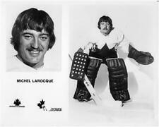 Michel Larocque team Canada 1972 Unsigned 8x10 Photo