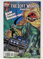 Topps Comics: The Lost World Jurassic Park #2 Rain Forest Round-Up - June 1997
