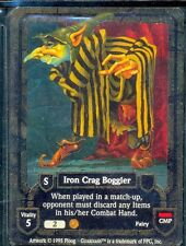 GUARDIANS CCG IRON CRAG BOGGLER VO COMMON