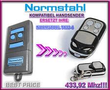 Normstahl T433-4 Kompatibel Handsender 433,92Mhz. Ersatz fernbedienung.
