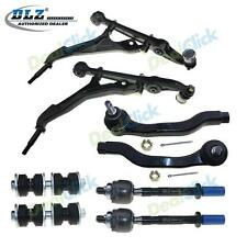 Front LH& RH Lower Control Arm Sway Bar Tie Rods Pair Kit For 92-95 Honda Civic