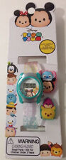 NEW Disney Tsum Tsum Girls LCD Digital Wrist Watch With Slide On Characters