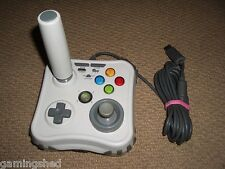 MICROSOFT XBOX 360 ARCADE GAME STICK RETRO USB JOYSTICK - White Mad Catz JOY PAD