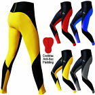 Mens Cycling Tights Trousers Cycle Shorts Tights Leggings ANTI-BAC PADDED