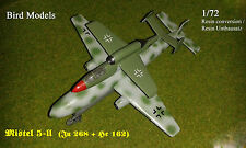 Mistel 5-ii (Ju 268 &! eh 162) 1/72 Bird models resinumbausatz/resin conversion
