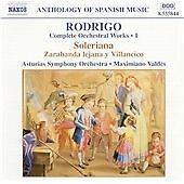 NAXOS CD: Joaquin Rodrigo - Rodrigo: Complete Orchestral Works, Vol. 1 (2002)