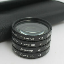 RISE 37mm Close up Close-Up Macro +1 +2 +4 +10 Filter Kit for Olympus Sony Hoya