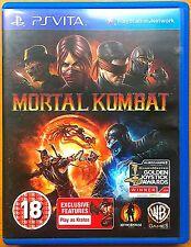 Mortal Kombat - Playstation PS Vita Games - Very Good Condition