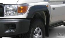 Flares for Toyota Landcruiser 70 Series Ute - White Front Set