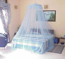 MOSQUITO NET SOFT NET ROUND DOUBLE  BED And SINGLE BED