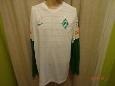 """Werder Bremen Nike Langarm Spieler Freizeit-Training Trikot """"ohne Sponsor"""" Gr.XL"""