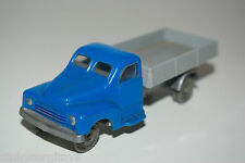 SIKU V SERIE HANOMAG 2 TON TRUCK LORRY GREY BLUE NEAR MINT CONDITION PLASTIK