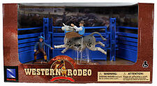 Western Rodeo Playset - Bull Riding Blue Gate