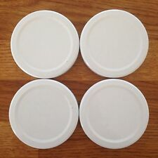 50 Jam Jar Lids  63mm Twist Off Brand New Metal White + Other Colours Or Mixed