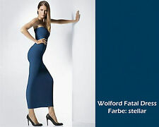 WOLFORD FATAL DRESS • small • stellar / blau •  ... als Rock Top Kleid zu tragen