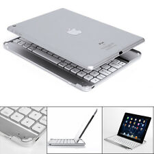 New Stand Aluminum Bluetooth Wireless Keyboard Docking Case For iPad Air 2  &Pro