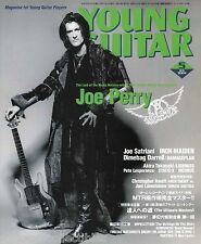 Young Guitar Magazine May 2004 Japan Aerosmith Iron Maiden Damageplan