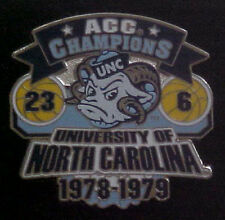 NORTH CAROLINA TAR HEELS 1978-79 ACC CHAMPIONS WILLABEE & WARD COMM SERIES PIN