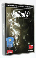Fallout 4 very limited Preorder Box Contains T-Shirt Xbox One PS4 PC 4 NO GAME