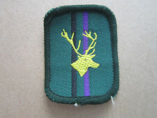 Stag Patrol Woven Cloth Patch Badge Boy Scouts Scouting