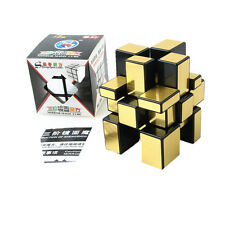 3x3x3 Gold Shengshou Magic Cube Puzzle Mirror Intelligence Ultra-smooth Twist