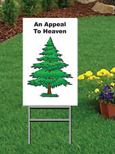 "12 x 18"" An Appeal To Heaven Coroplast Yard Sign with Yard Stake - 2 sided"