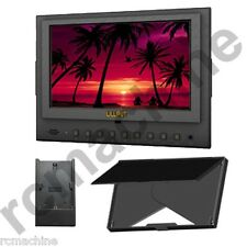 """Lilliput 7"""" 5D-II/O HDMI In & Out Monitor Canon 5D Mark II III 5d2+LP-E6 adapter"""