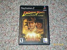 Indiana Jones and the Emperor's Tomb (Sony PlayStation 2, 2003) COMES COMPLETE