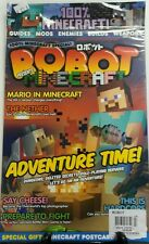 Robot Prevents Minecraft UK No 27 Adventure Time Mario Wii U FREE SHIPPING sb
