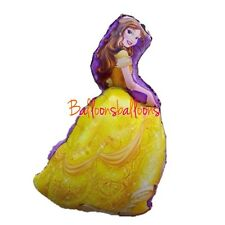 "Disney Beauty And The Beast Belle 36"" Shaped  Helium Balloon Princess Party"