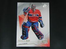 2015-16 SP Authentic Base Card #85 Patrick Roy Montreal Canadiens