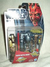 Action Figure Star Wars Movie Heroes Super Battle Droid 4 inch