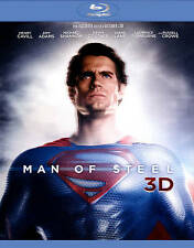 Man of Steel [Blu-ray Boxset] [Includes Digital Copy; UltraViolet; 3D/2D] New Re