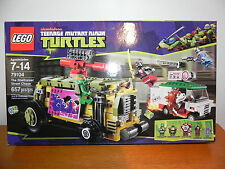 LEGO 79104 ~ TEENAGE MUNTANT NINJA TURTLES-  THE SHELLRAISER STREET CHASE - NEW