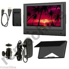 "Lilliput 7"" 5D-II/O HDMI In & Out Field Monitor Canon 5D Mark II 5d2+cable+stand"