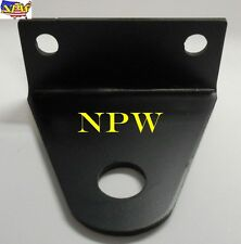 "Universal Zero Turn (ZTR) Mower Trailer / Tow Hitch - 3 in mt - 3/4"" pin hole"