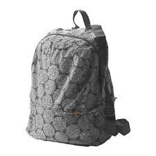 IKEA KNALLA fold-able Backpack, grey, white, light weight and small